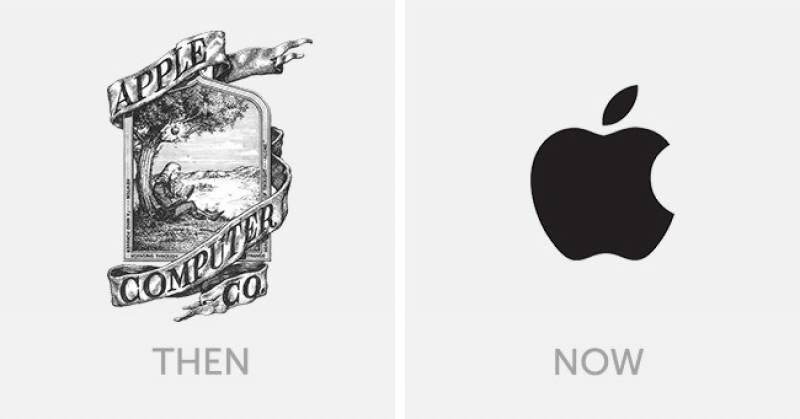 مشہور کمپنیوں کے 'لوگو 'کتنے بدل چکے ہیں