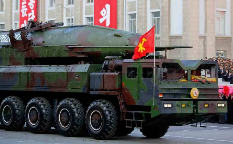 شمالی کوریا کا ایٹمی میزائل تجربہ ناکام ہو گیا