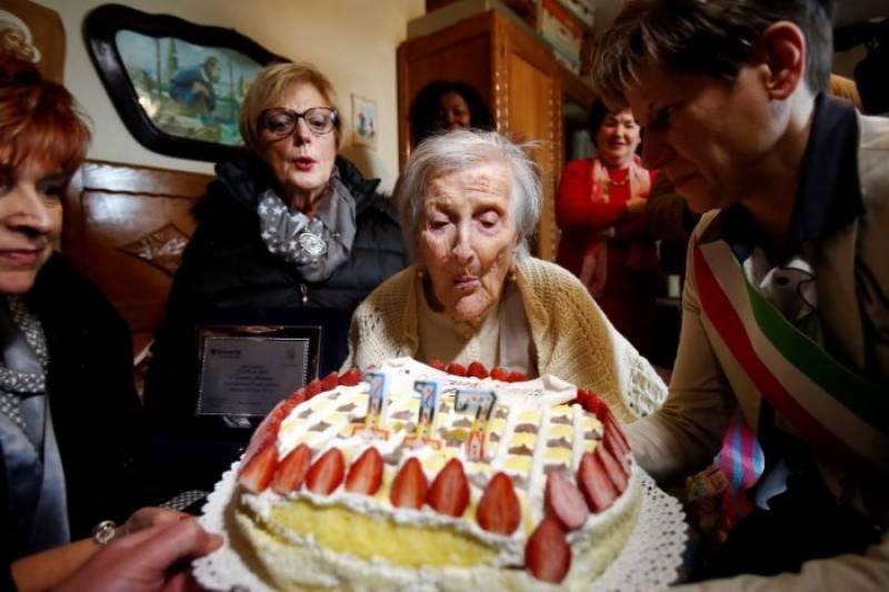 اٹلی ،دنیا کی معمر ترین خاتون 117 برس کی عمر میں انتقال کر گئیں