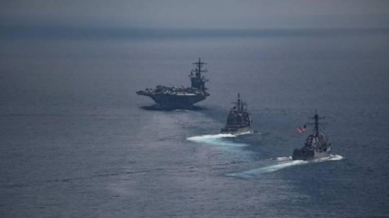 امریکی بحری بیٹرہ شمالی کوریا سے دور چلا گیا