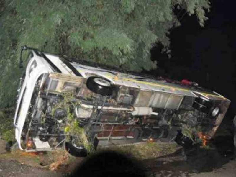 ہماچل پردیش میں مسافر بس دریا میں گرنے سے 44 افراد ہلاک