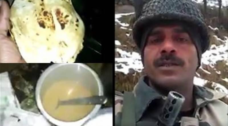 بھارتی فوج میں ناقص اور غیر معیاری کھانے کا بھانڈا پھوڑنے والا اہلکارنوکری سے فارغ