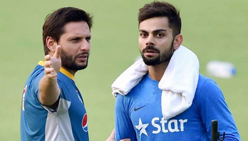 شاہد آفریدی نے ویرات کوہلی سے جلد ملنے کا اعلان کر دیا