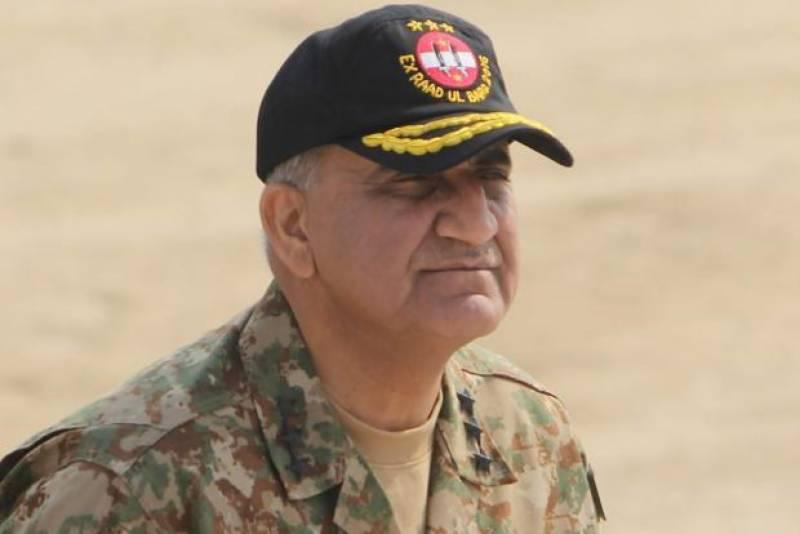 آرمی چیف جنرل قمر جاوید باجوہ کی افغانستان میں مزار شریف میں حملے کی شدید مذمت