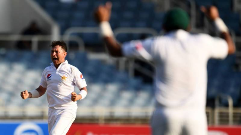 پہلے ٹیسٹ میں پاکستان کو جیت کیلئے 32 رنز کا ہدف
