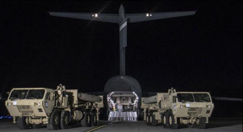 امریکا نے جنوبی کوریا میں میزائل ڈیفنس نظام کی تنصیب شروع کردی