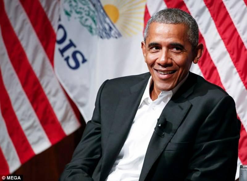 امریکی کمپنی باراک اوباما کو تقریر کا 4کروڑ سے زائد معاوضہ دے گی