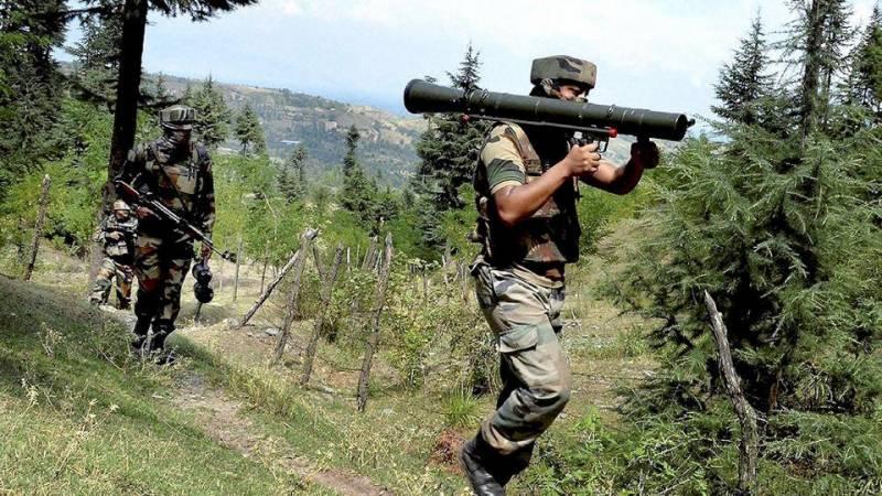 مقبوضہ کشمیر کے ضلع کپواڑہ میں بھارتی فوجی کیمپ پر حملہ
