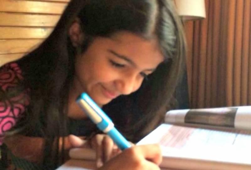 تیرہ سالہ پاکستانی بچی جو دنیا کے ہر ملک کی کتاب پڑھنا چاہتی ہے