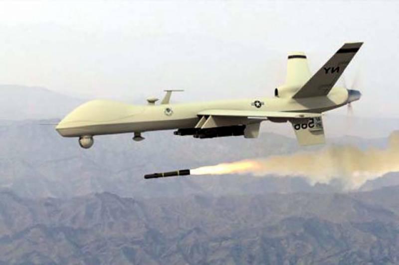 پاک افغان سرحد کے قریب دتہ خیل میں ڈرون حملہ، 6 دہشتگرد ہلاک