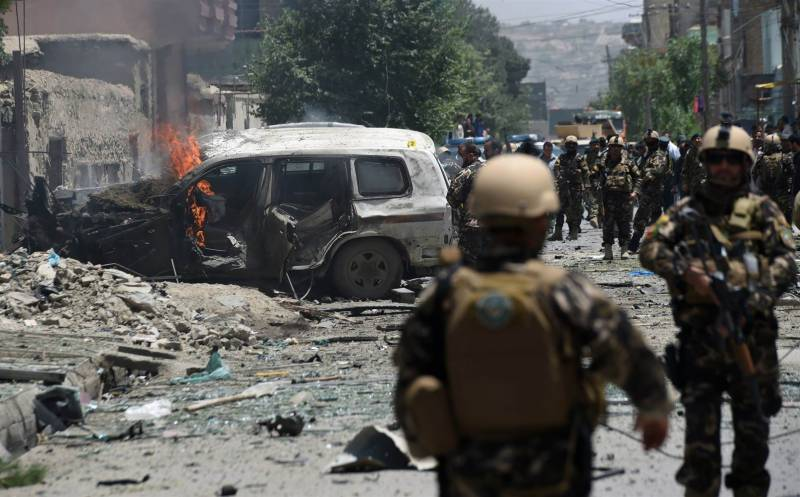 کابل :امریکی سفارتخانہ کے قریب خود کش دھماکا