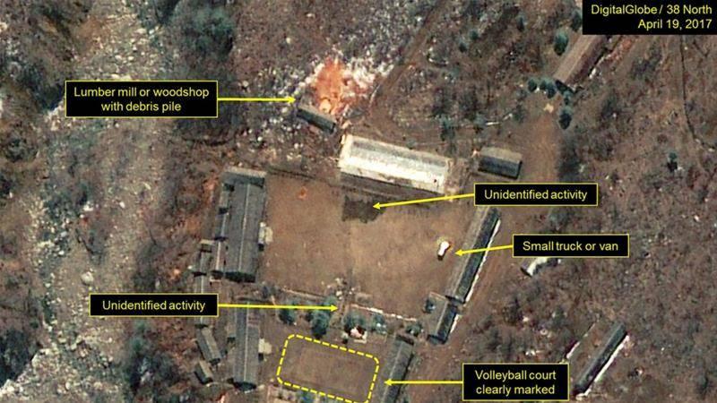 امریکہ کیساتھ بڑھتی ہوئی کشیدگی، شمالی کوریا نے ایٹمی تجربے کی سائٹ پر سرگرمی تیز کر دی