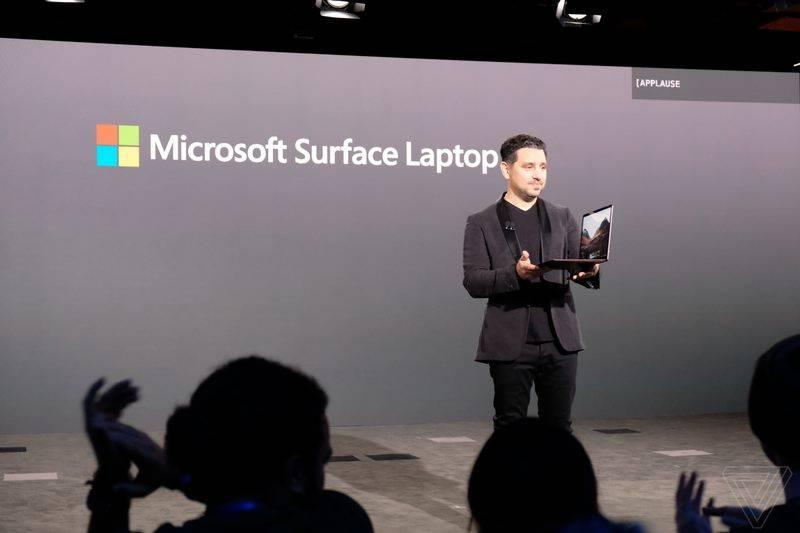 """مائیکروسافٹ کا پہلا """" سرفیس لیپ ٹاپ"""" متعارف"""