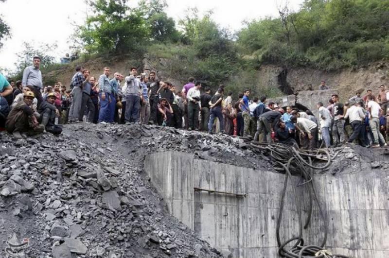 ایران: کوئلے کی کان میں دھماکا، 35 افراد جاں بحق
