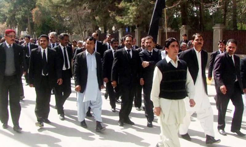 بلوچستان کی وکلاءتنظیموں کا اسلام آباد میں وکلاءکنونشن سے بائیکاٹ کا اعلان