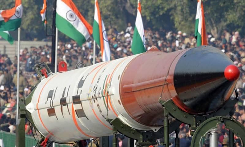 بھارت کا جوہری پھیلاو پڑوسی ملکوں کیلئے باعث تشویش