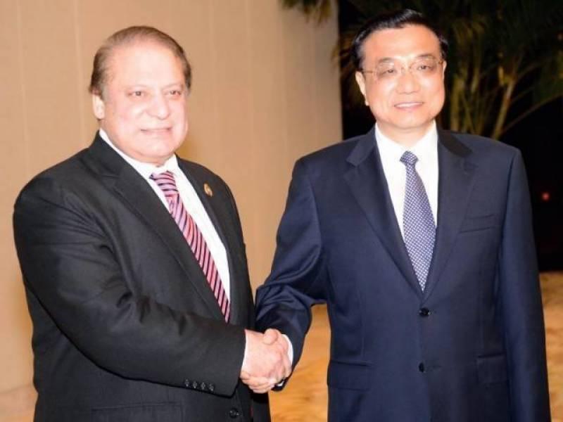 وزیراعظم کی چینی ہم منصب سے ملاقات، سی پیک سے متعلق معاہدوں پر دستخط