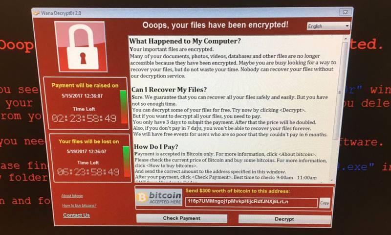 دنیا بھر کے 100 ممالک سائبر حملے کی زد میں آ گئے