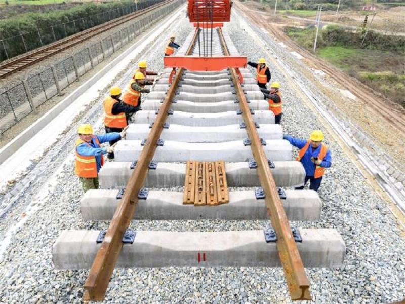 چین کیساتھ پشاور تا کراچی ریلولے ٹریک کی اپ گریڈیشن کا معاہدہ کرنے کی تیاریاں
