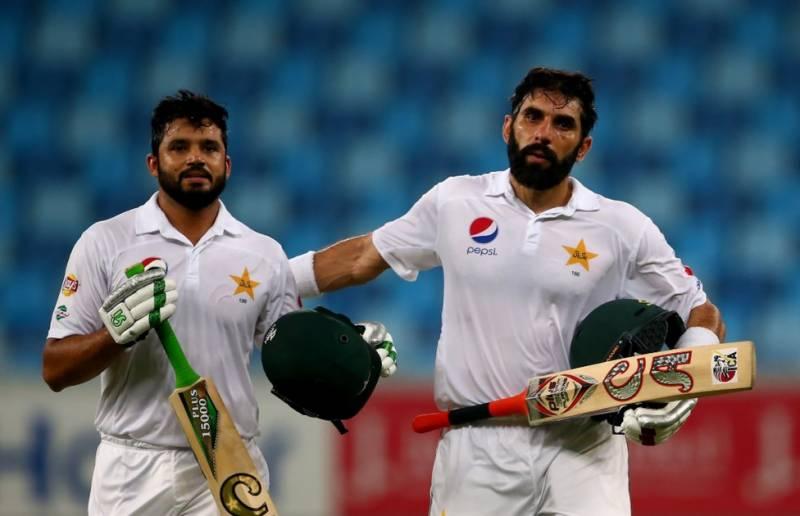 قومی ٹیسٹ ٹیم نے سست بیٹنگ کی داستان رقم کر دی