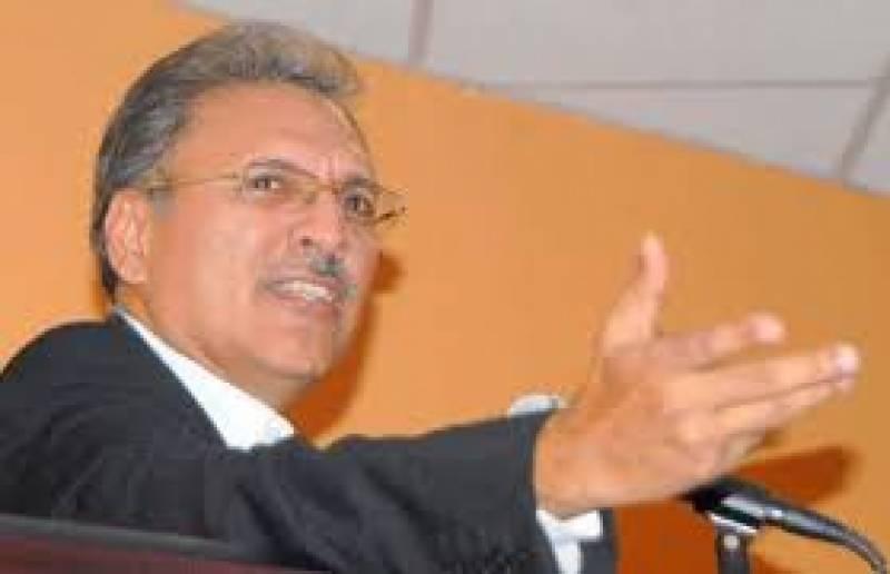 پیپلز پارٹی اور ان کے کرپٹ ٹولے نے پورے سندھ میں کرپشن کا بازار گرم کیا ہوا ہے، عارف علوی