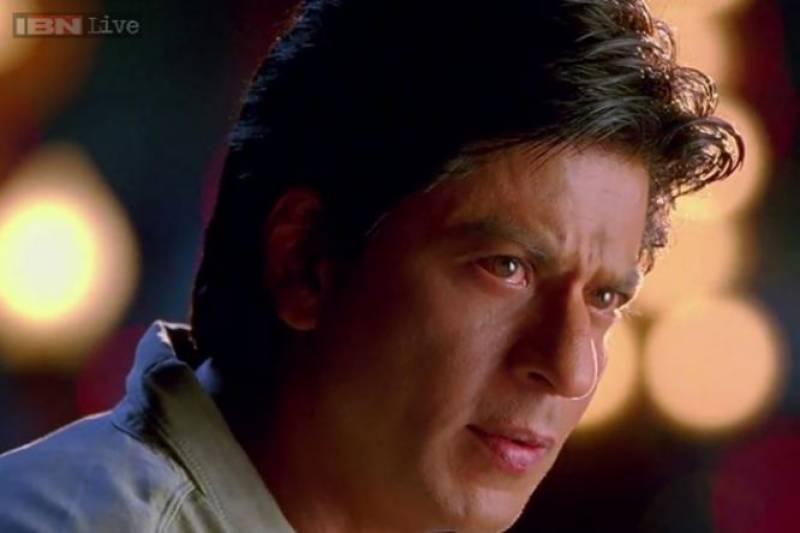 سیٹ کی چھت گرنے سے شاہ رخ خان بال بال بچ گئے