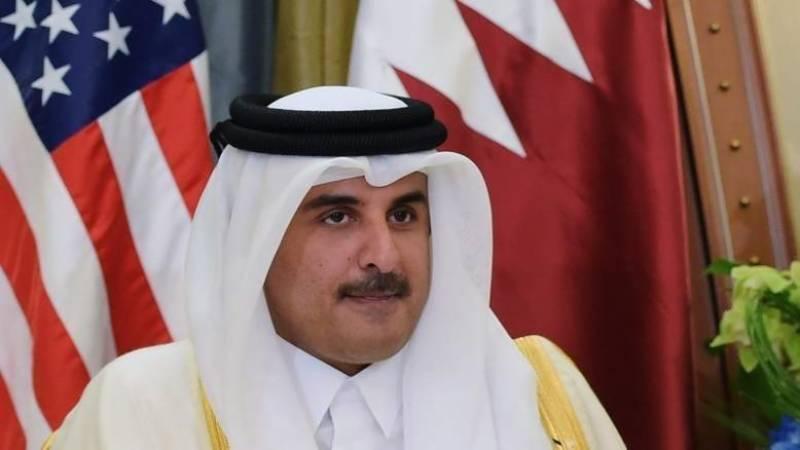 خلیجی ممالک سے مفاہمت اور کشیدگی کم کروانےامیر قطر کویت پہنچ گئے