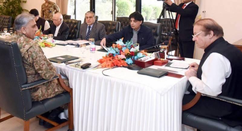 وزیراعظم کی زیرصدارت قومی سلامتی کمیٹی کا اجلاس، اہم امور زیر غور