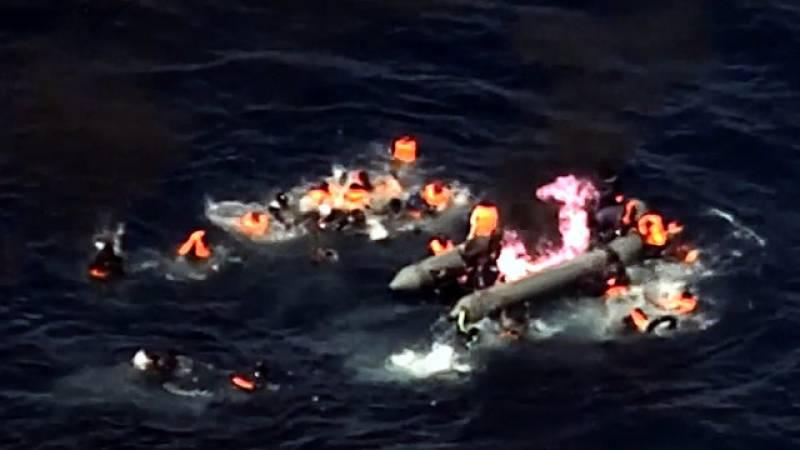 پرتگال ایئر فورس نے34 مراکشی باشندوں کو ڈوبنے سے بچا لیا