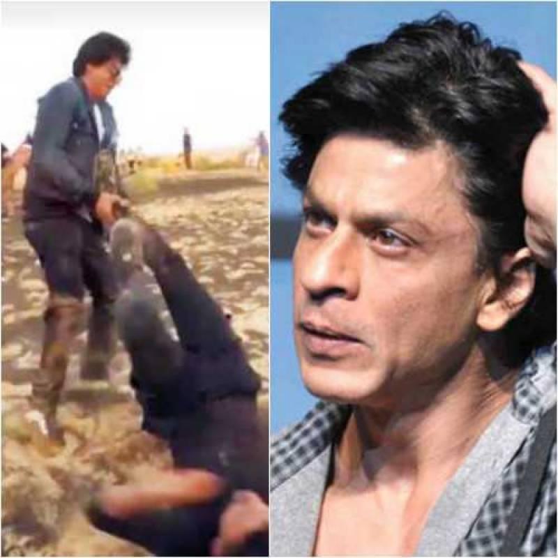 شاہ رخ خان کے شدید غصے میں آ نے کی ویڈیو سوشل میڈیا پر وائرل ہو گئی