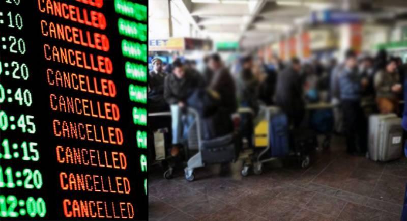 شدید گرمی ، 16 پروازیں منسوخ ، کراچی سے اسلام آباد5پروازیں بھی روانہ نہ ہوسکیں