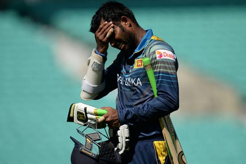 آئی سی سی نے سری لنکن کپتان اپل تھرنگا پر دو میچوں کی پابندی لگا دی
