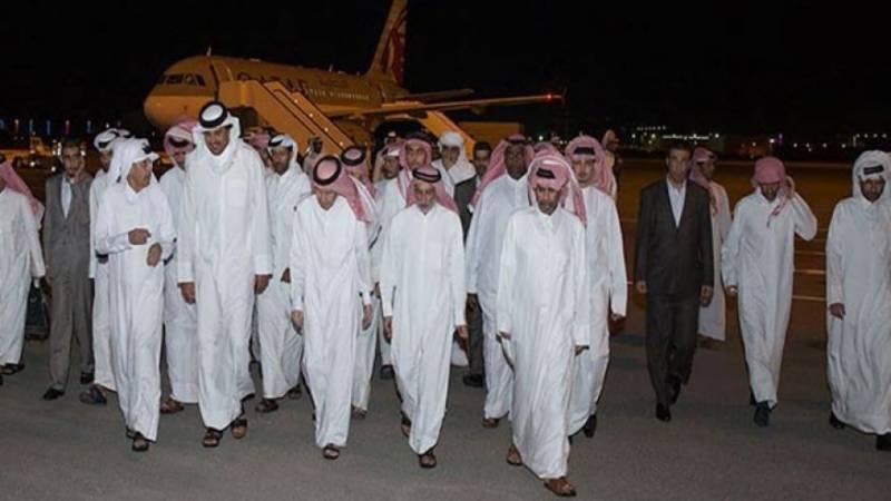 قطر نے شاہی خاندان کے افراد کو چھڑوانے کے لیے 1ارب ڈالر تاوان ادا کیا ، ذرائع