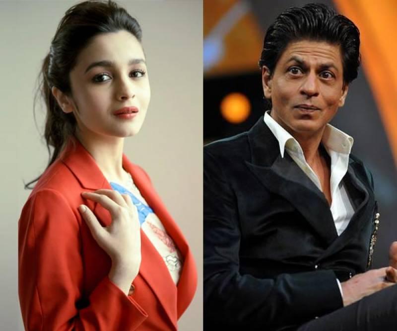 بالی ووڈ اداکارہ عالیہ بھٹ شاہ رخ خان سے ناراض ہو گئیں