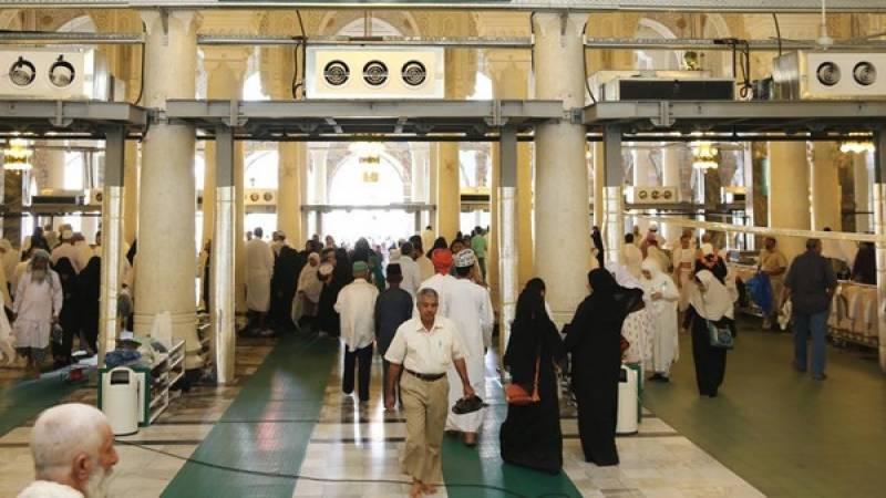 قطری متعمرین پر مسجد الحرام میں داخل ہونے پر کوئی پابندی نہیں ہے ،سعودی حکام