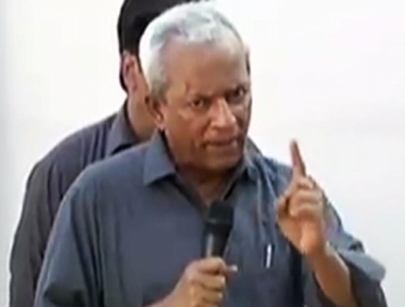 سینیٹر نہال ہاشمی کو مسلم لیگ( ن) سے نکال دیا گیا