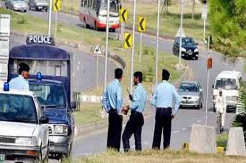 وفاقی پولیس نے110بھکا ریو ں کو گرفتار کر لیا