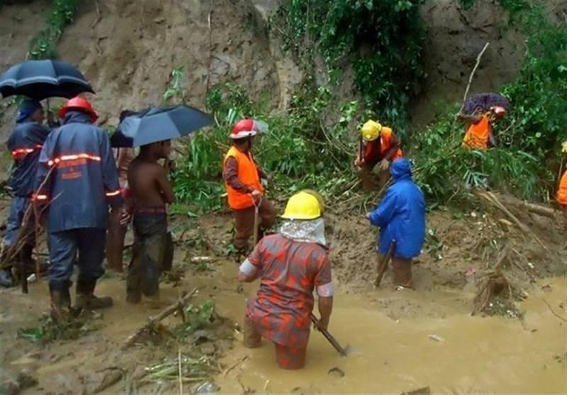 بنگلہ دیش میں بارشوں اور سیلاب سے 134 افراد جاں بحق