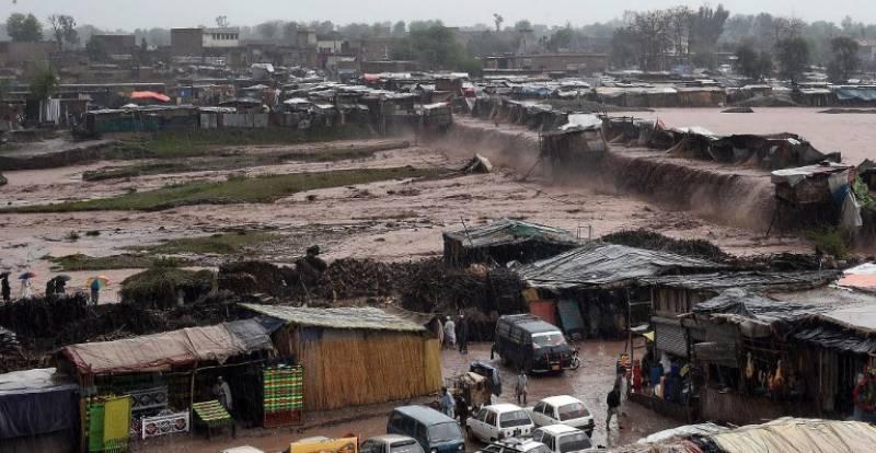 خیبرپختونخوا میں مون سون کے دوران سیلاب آ سکتا ہے، محکمہ موسمیات کی وارننگ