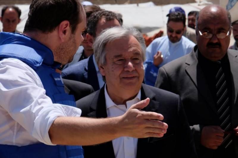 فوجی کارروائی افغان مسئلے کا حل نہیں: سیکریٹری جنرل اقوام متحدہ