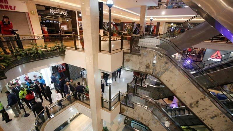 کولمبیا کے شاپنگ مال میں دھماکا، تین خواتین ہلاک