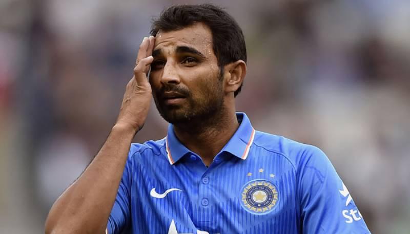 """باپ کون ہے"""" کے سوال پر بھارتی کھلاڑی محمد شامی آگ بگولہ"""