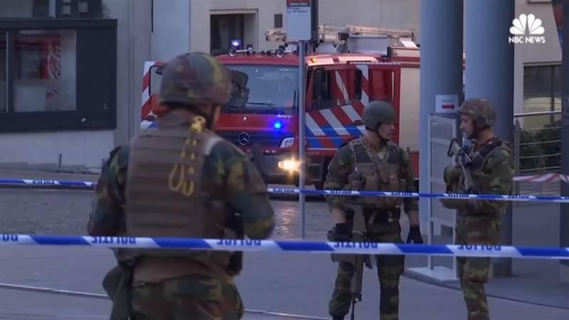 بیلجیئم 'ریلوے اسٹیشن پر دھماکا، فائرنگ کے تبادلے میں ملزم ہلاک