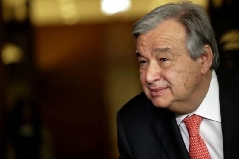 مسئلہ کشمیر حل کرانے میں کوتاہی نہیں برت رہے، اقوام متحدہ