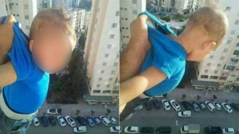 الجزائر کی عدالت نے بچے کھڑکی سے باہر لٹکانے والے شخص کو دو سال قید سزا سنا دی