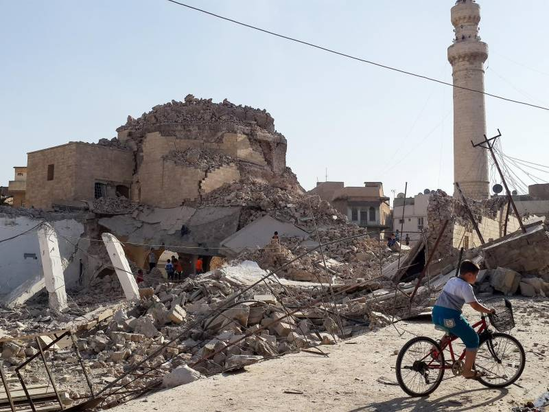 داعش نے عراق میں300 مساجدشہید، مزارات اور کئی گرجا گھر مسمار کردیئے
