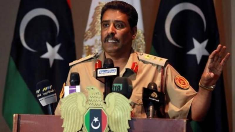 لیبیا کی فوج کا قطر پر مداخلت اور دہشت گردی کی سپورٹ کا الزام