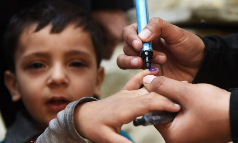 پاکستان میں پولیو کا تیسرا کیس سامنے آگیا