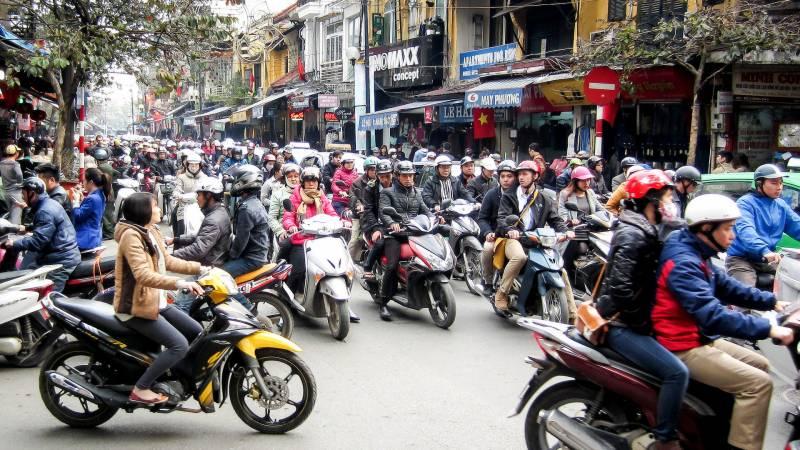 ویتنام میں 2030 تک موٹرسا ئیکل پر پابندی