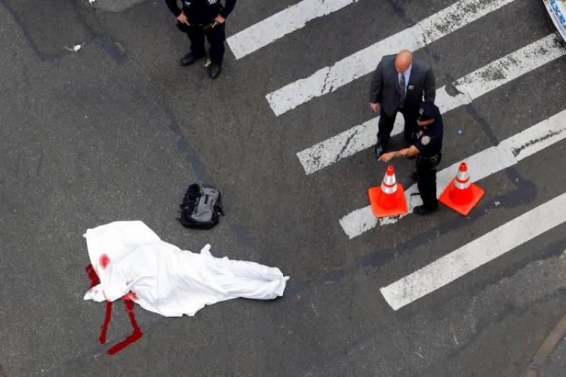 نیویارک میں مسلح شخص کی فائرنگ سے خاتون پولیس آفیسر ہلاک